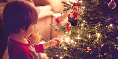 Christmas ornament, Christmas tree, Christmas, Christmas eve, Child, Tree, Christmas decoration, Toddler, Ornament, Tradition,
