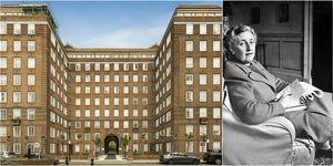 Agatha Christie Chelsea apartment - Swan Court