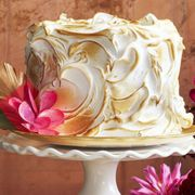 Buttercream, Icing, Meringue, Cake decorating, Sweetness, Garden roses, Cake, Pink, Dessert, Petal,