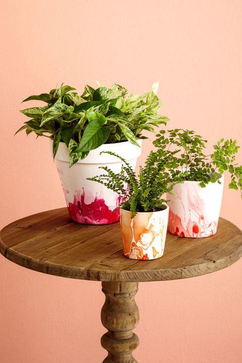 watercolor planters