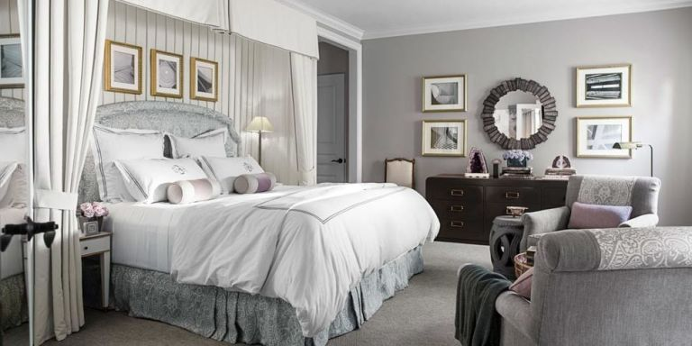 13 Best Gray Bedroom Ideas - Decorating Pictures of Gray Bedroom ...