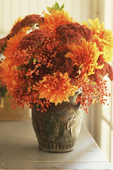 30 Fall Flower Arrangements Ideas For Fall Table