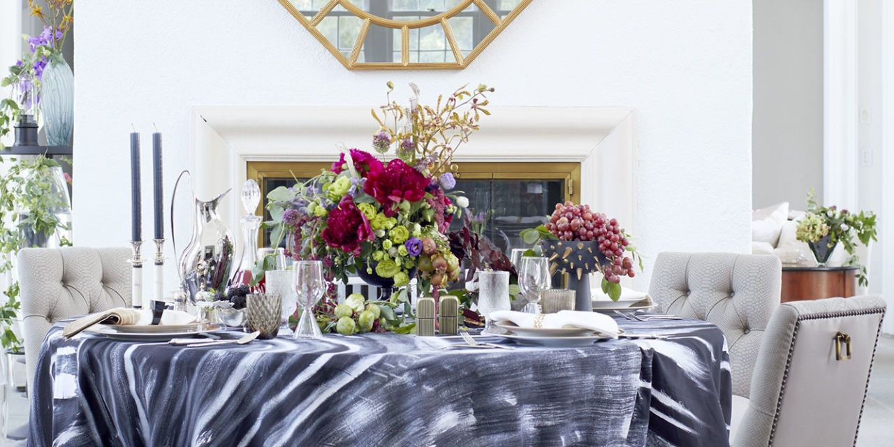 Jung Lee Fall Tablescape