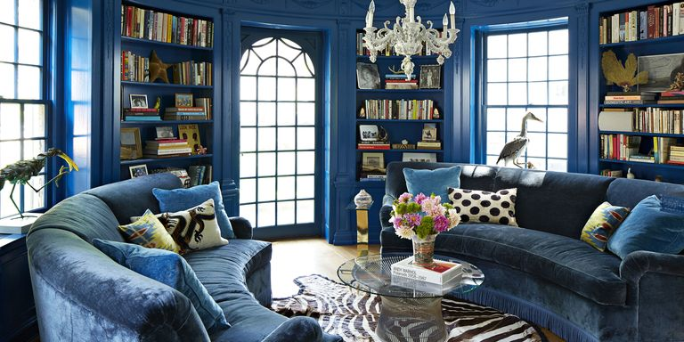 Janet Gridley Designs a Colorful Colonial Home - Inside a Pattern ...