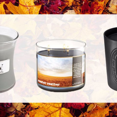 The 29 Best Fall Candles to Get You Psyched For the Season