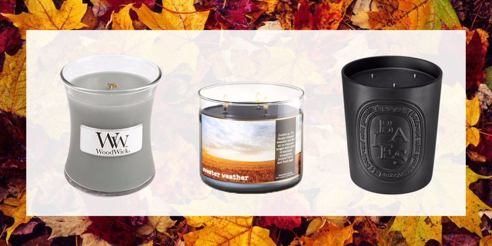 13 best fall scented candles autumn candles to buy now. Black Bedroom Furniture Sets. Home Design Ideas