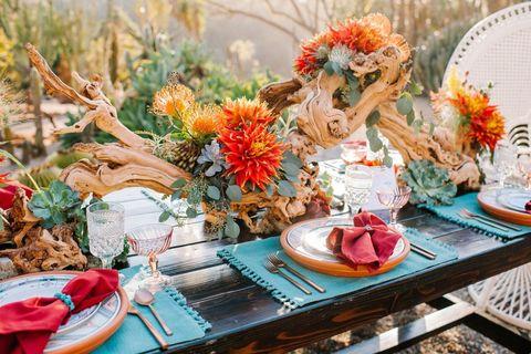 Table, Flower, Turquoise, Spring, Teacup, Brunch, Plant, Tableware, Summer, Cut flowers,
