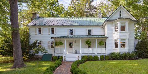 A White Farmhouse For Sale Outside Washington DC