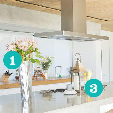 Room, Turquoise, Interior design, Property, Shelf, Furniture, Ceiling, Building, Kitchen, House,