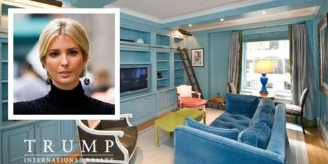 """Ivanka Trump's Drops Asking Rent Again on Her Park Avenue """"Starter"""" Apartment"""
