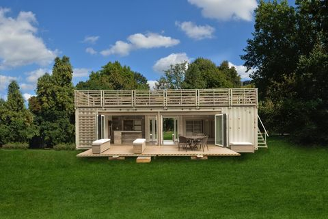 House, Property, Building, Home, Architecture, Grass, Estate, Log cabin, Farmhouse, Land lot,