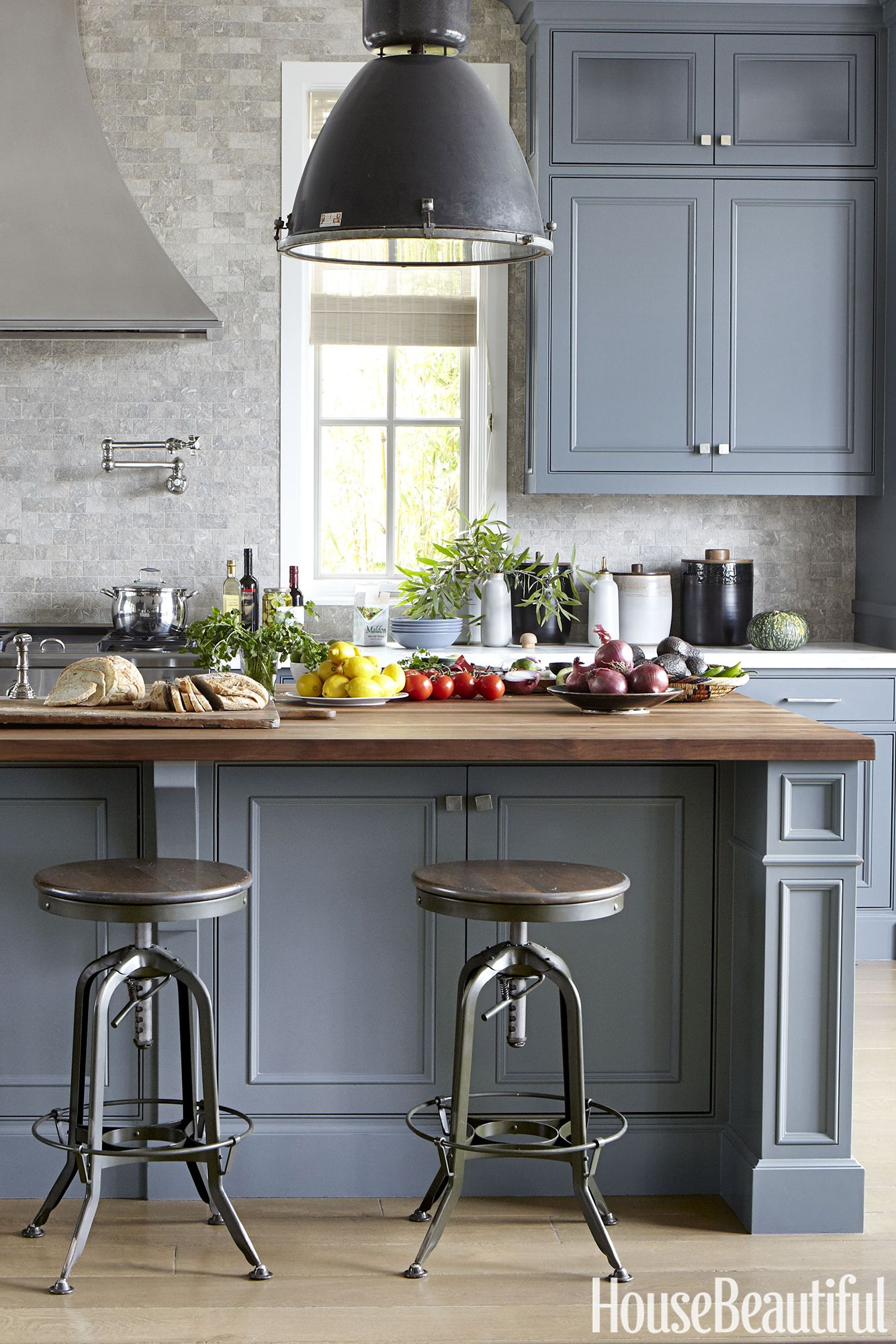 amazing Beautiful Grey Kitchens Part - 20: House Beautiful