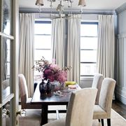 suede dining chairs