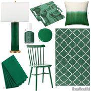 fir green accessories