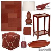 cinnamon color accessories