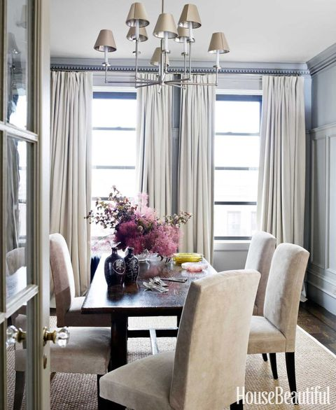 Relaxed Dining Room - House Beautiful Pinterest Favorite Pins March ...