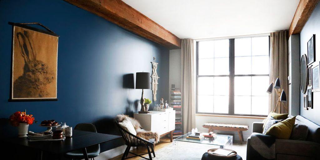 bunny artwork & Sheena Murphy Apartment - Designers at Home