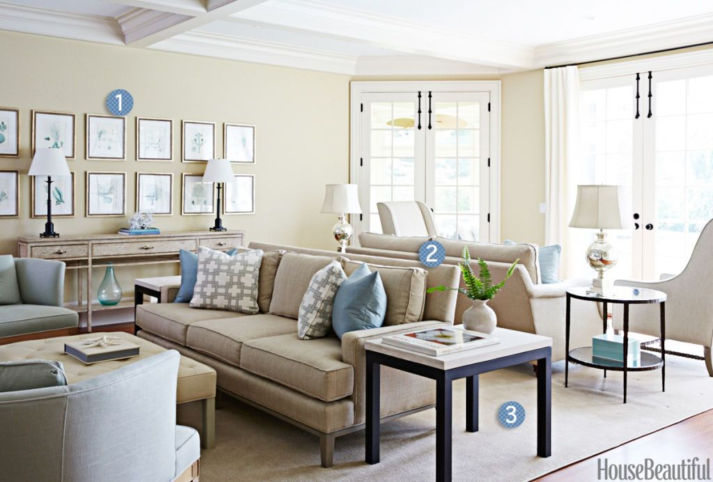 3 Steps to a Comfortable and Chic Living Room