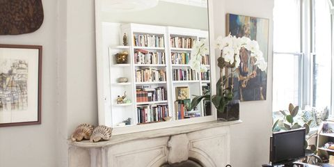 BEFORE & AFTER: A Glamorous Living Room Makeover