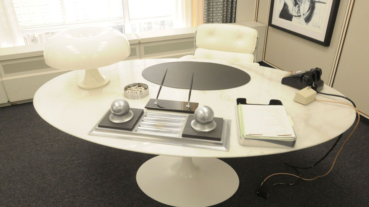 Mad Men Office Decor Set Design