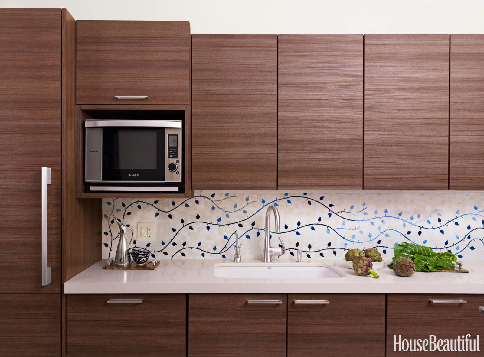 Tile Design In Kitchen