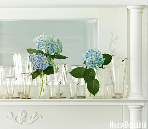 vintage glass beakers