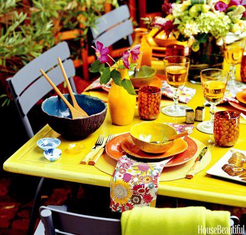 bright garden party