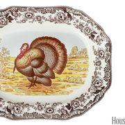 spoke woodland turkey platter