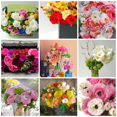 Best flowers for spring most popular spring flowers a sampling of arrangements from seed floral couture mightylinksfo