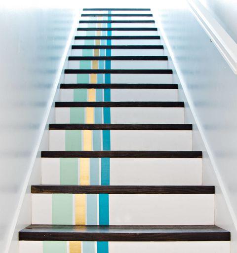 washi tape steps