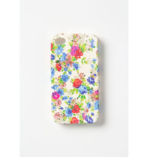 anthropologie vintage floral iphone case