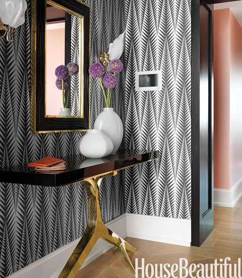 Clarence House Neisha Crosland Zebra Wallpaper