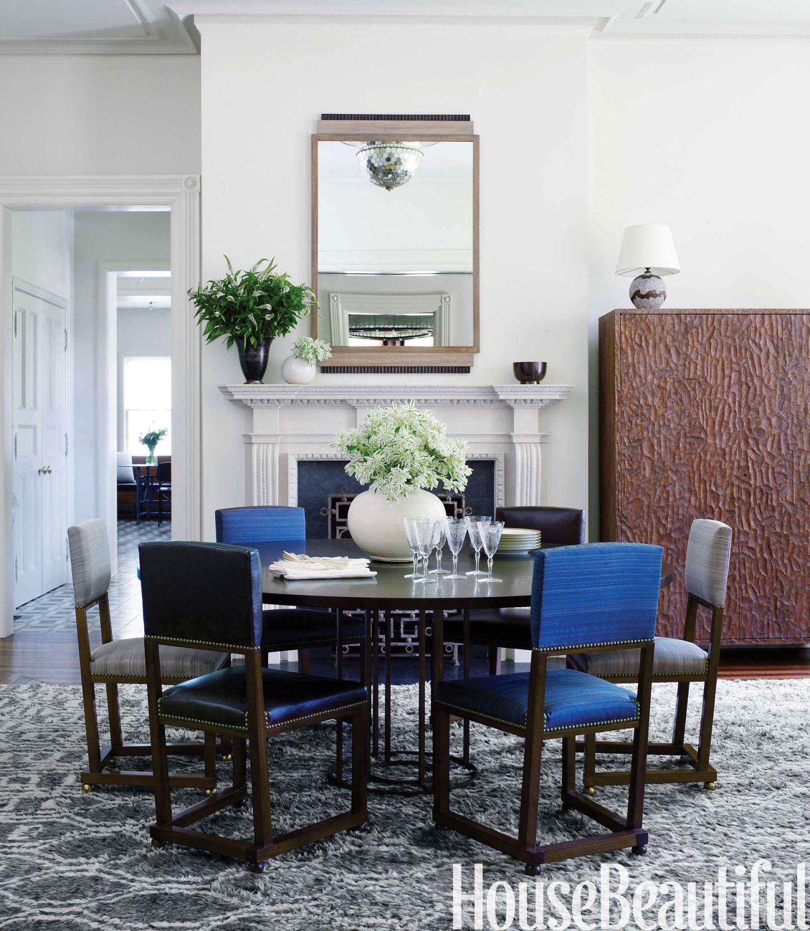 1920s swedish chairs. Alexandra Rowley. Dining Room & Modern Victorian House - Victorian House Decorating Ideas