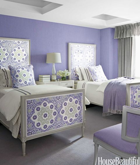 Peaceful Bedroom Colors And Decorating Ideas: Relaxing Paint Colors
