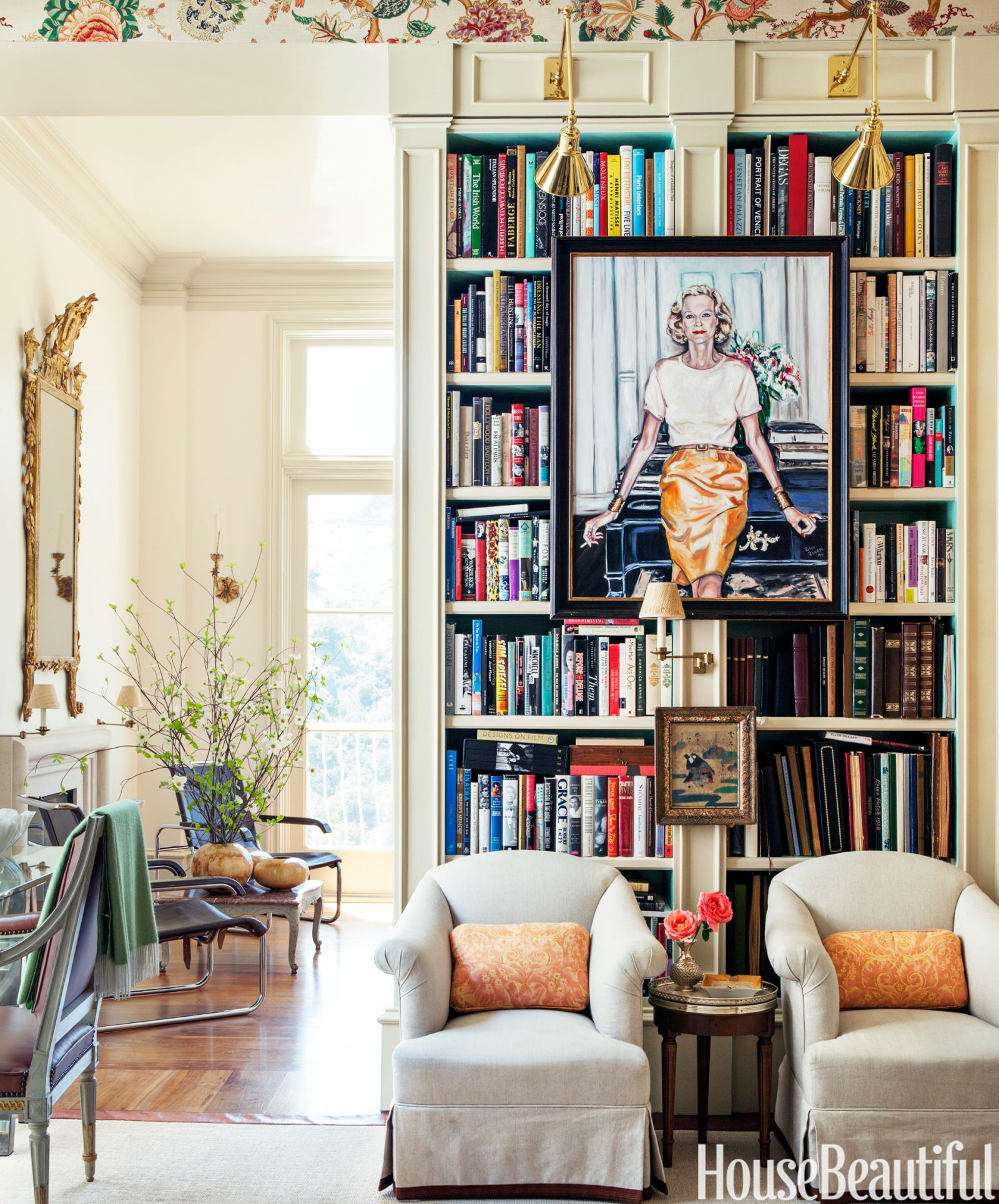 Awesome Bookshelf Portrait