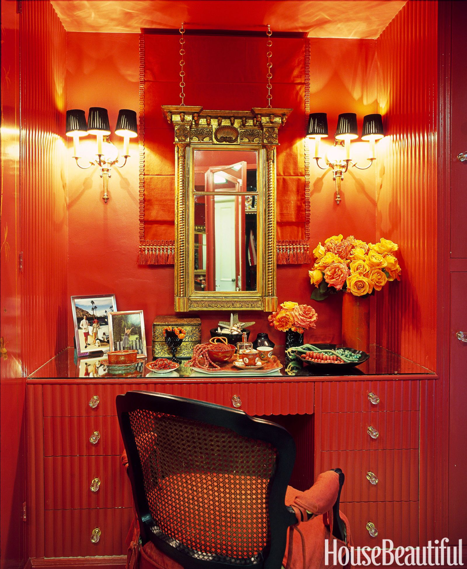 8 Deep Red Rooms for Fans of Marsala, the Pantone Color of the Year 2015