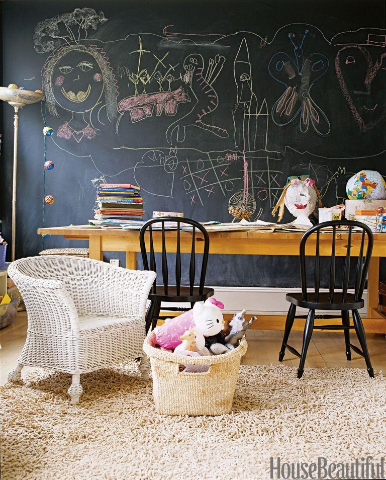 Cool kids spaces kids decorating ideas for Blackboard hampton