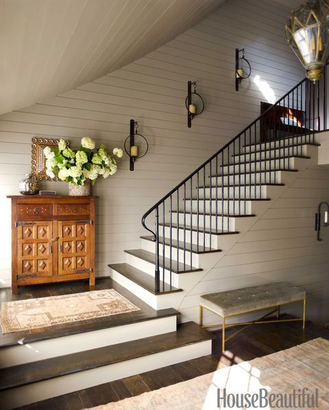 Staircase Decorating Ideas With Modern Design: House Beautiful Pinterest