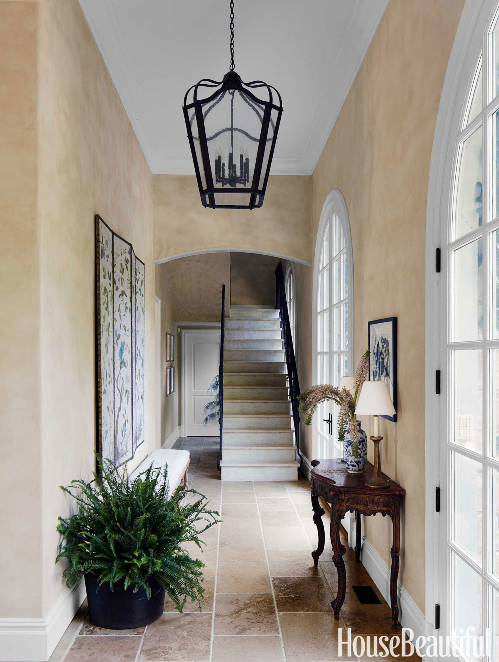 Ideas To Decorate Entrance Of Home Part - 19: 75+ Foyer Decorating Ideas - Design Pictures Of Foyers - House Beautiful