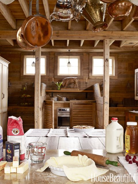 horse stable kitchen