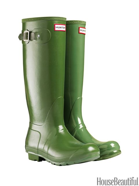 vintage green hunter boots