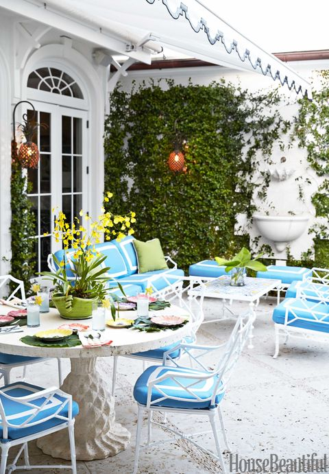 Colorful Palm Beach House Mimi Mcmakin Ashley Sharpe