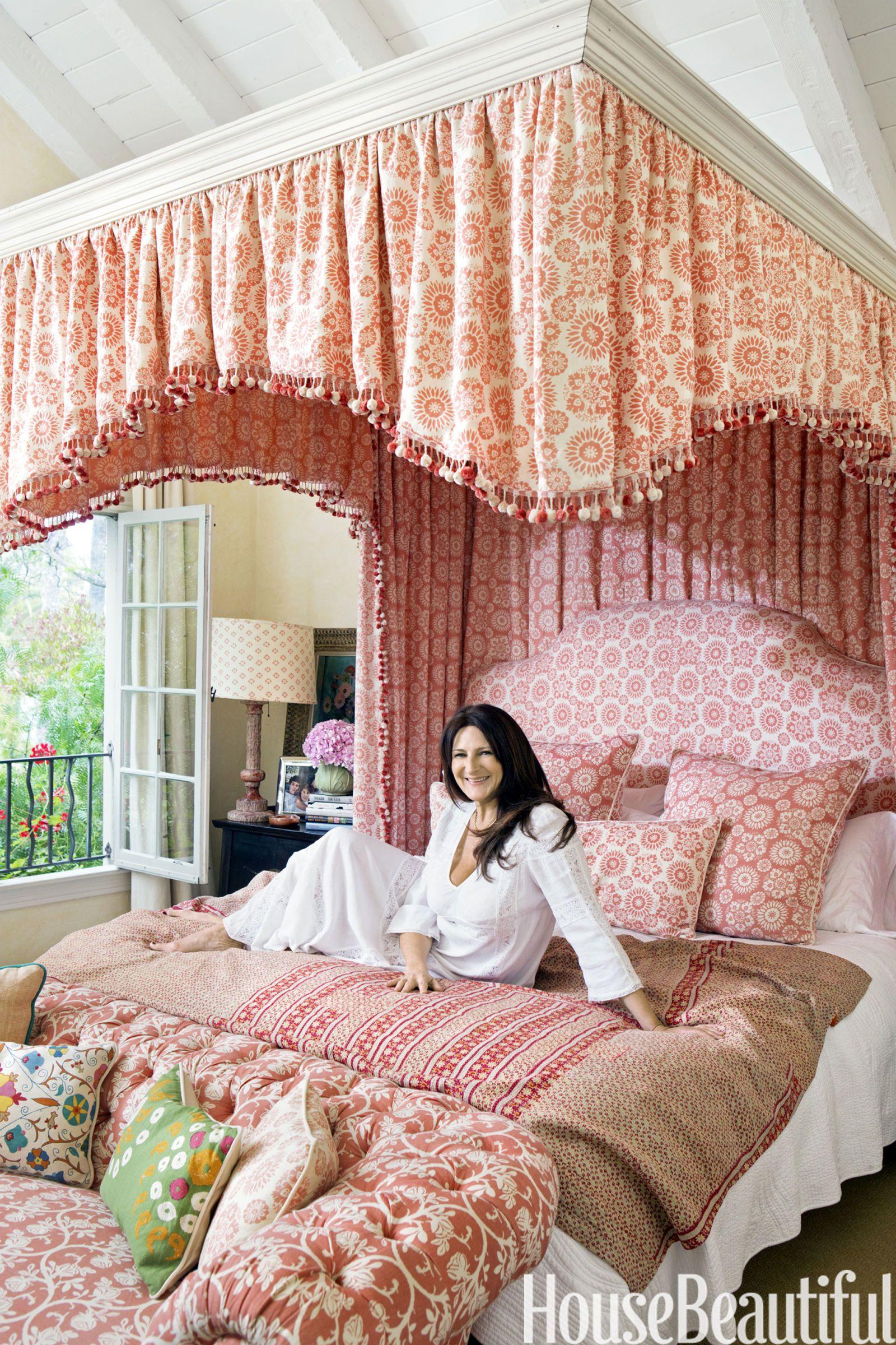 Kathryn Ireland Kathryn M Ireland Fabrics Interview  Kathryn M Ireland Bedroom