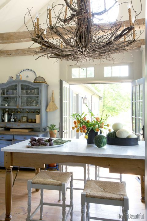 hudson home twig chandelier