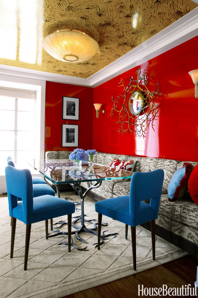 Bold color in small spaces small space paint colors - Colors for small rooms ...