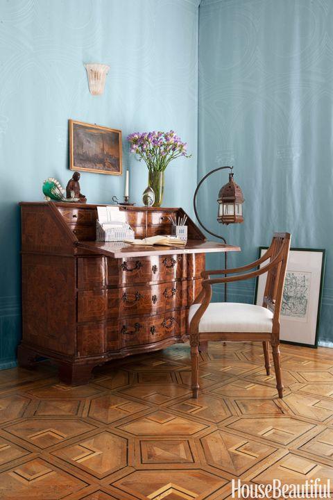 italian marquetry desk