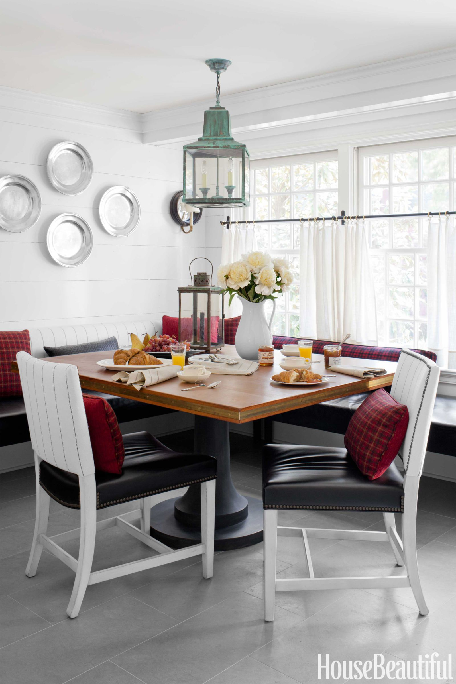 Clarence House Linen Stripe Chairs