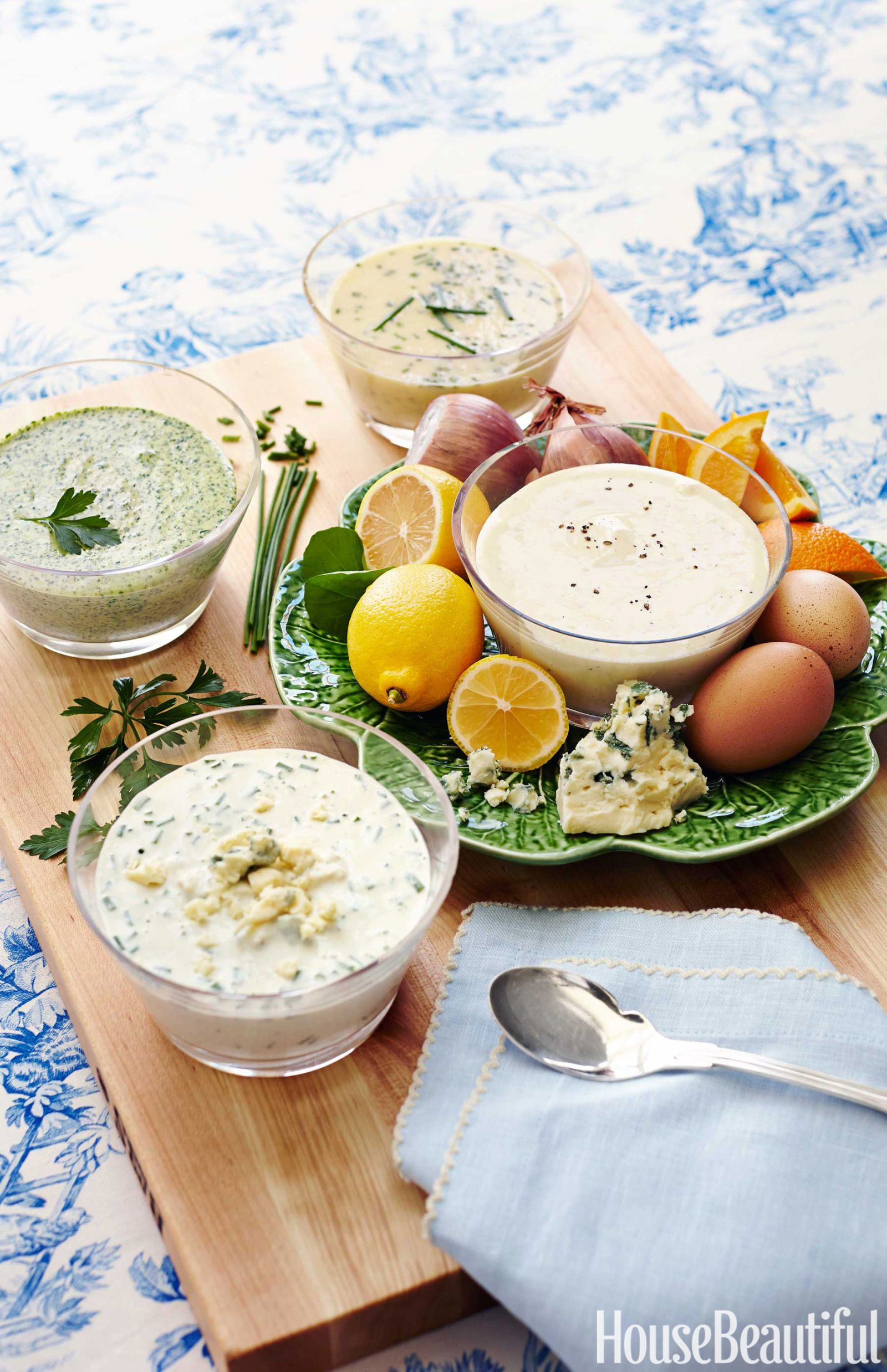 The Perfect Mayonnaise and Three Easy Sauces from Alex Hitz