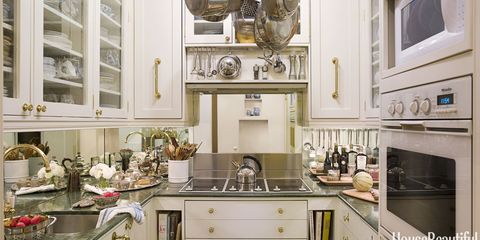 Inside a Kitchen the Size of a Walk-In Closet