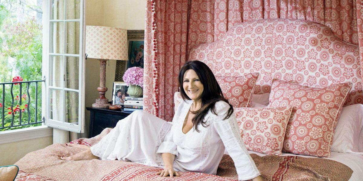 Kathryn M Ireland Fabrics Interview Kathryn M Ireland Bedroom